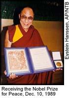 Dalai Lama Nobel