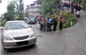 Dalai Lama arrivo a Dharamsala