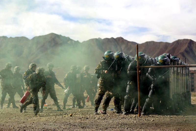 Forze di sicurezza i Tibet