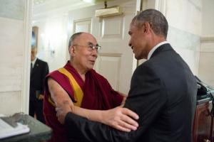 Dalai Lama+Obama 2016