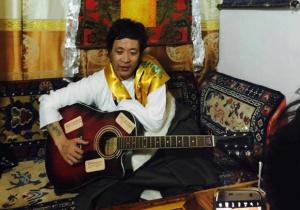 Tibetan singer
