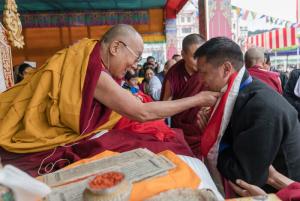 Dalai Lama con P.M. Arunachal