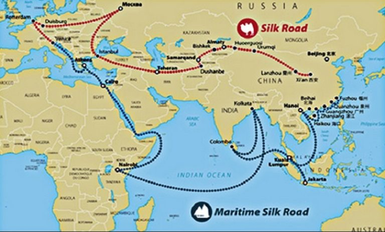 Cina one belt one road