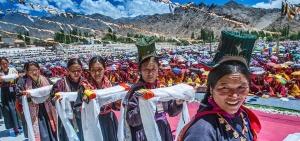 Dalai Lama birthday Ladakh