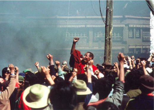 protesta 1987