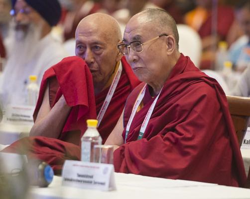 Dalai Lama+Samdong Ripoche
