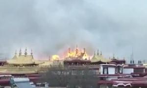 Incendio Jokhang 2