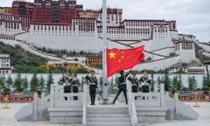 Potala+bandiera cinese