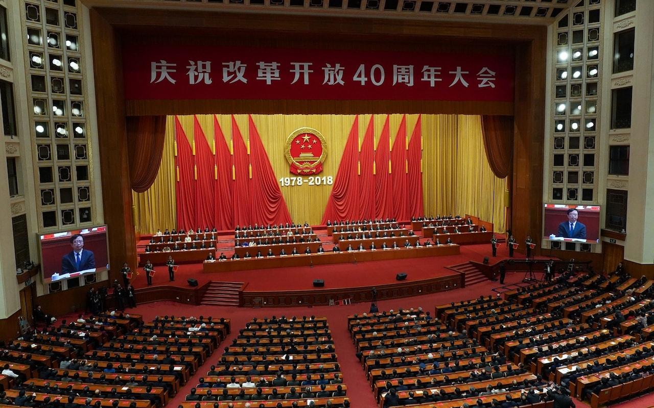 grande sala del popolo dicembre 2108