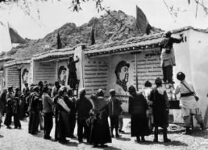 Lhasa dipinti Mao