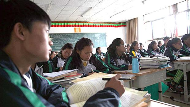 Studenti tibetani