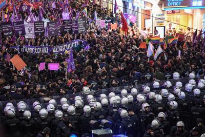 manifestazione a HK