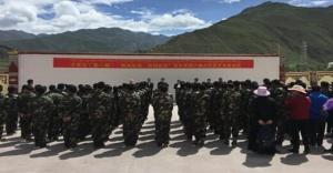 Tibet addestramento militare
