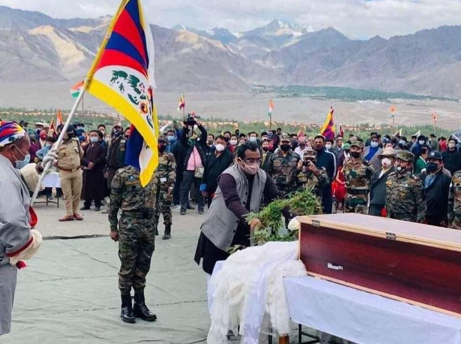 funerale Nyima Tenzin