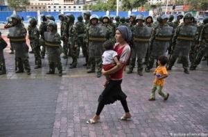 milizie in Xinjiang